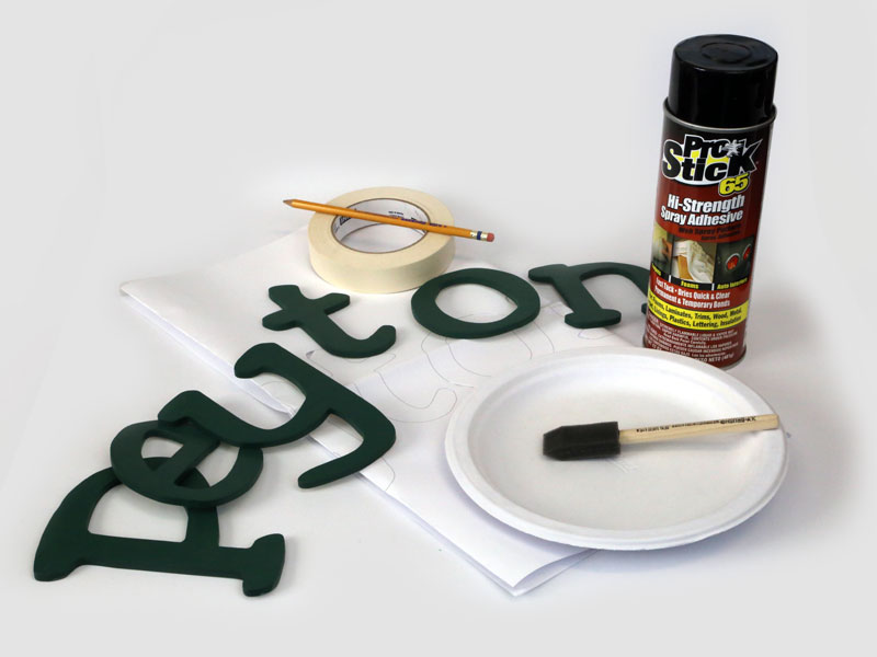 how to make spray adhesive