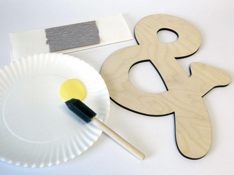 how to paint wood letters with a brush materials for painting wood letters craftcuts