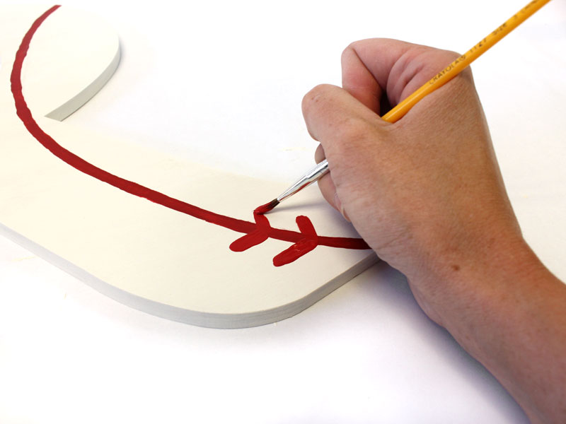 How to Make a Baseball Monogram | DIY