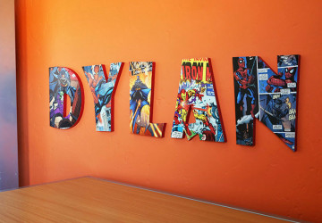 How to Make Comic Book Letters | CraftCuts.com