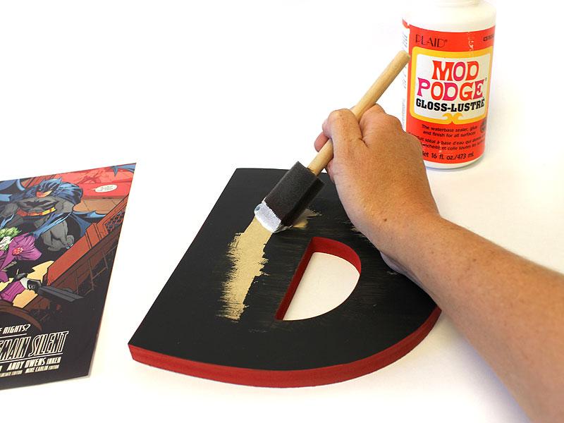 DIY ic Book Letters Custom Wood Letters ics