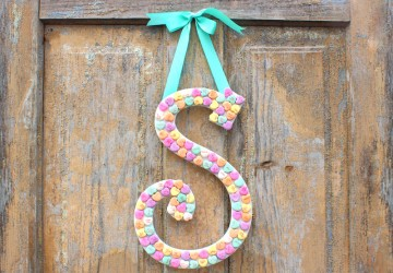 Valentine's Day Candy Monogram | CraftCuts.com