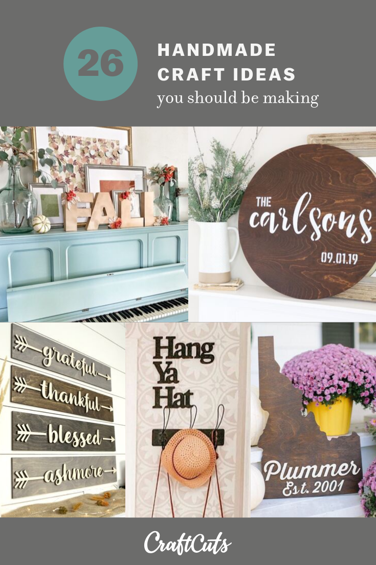 Handmade Craft Ideas You Should Be Making | CraftCuts.com on wood kitchen crafts, rustic kitchen crafts, country kitchen crafts, sewing kitchen crafts, primitive kitchen crafts, homemade kitchen crafts,