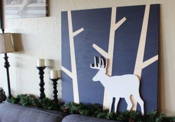 Create Woodland Deer Art | CraftCuts.com