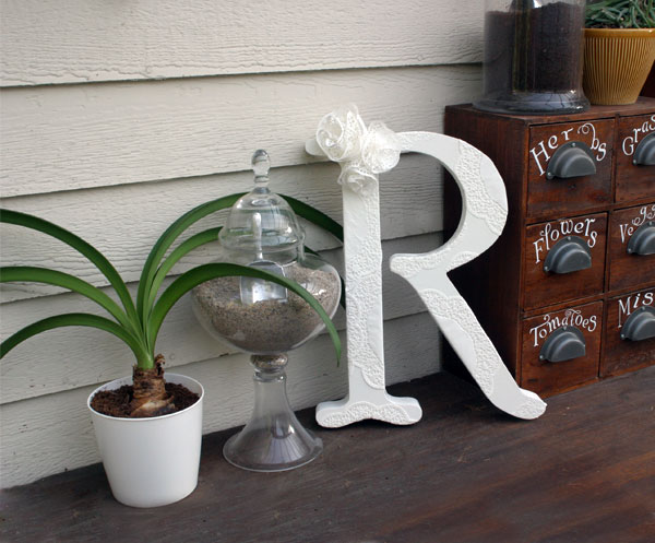 shabby chic plant shelves create your own shabby chic doily letter
