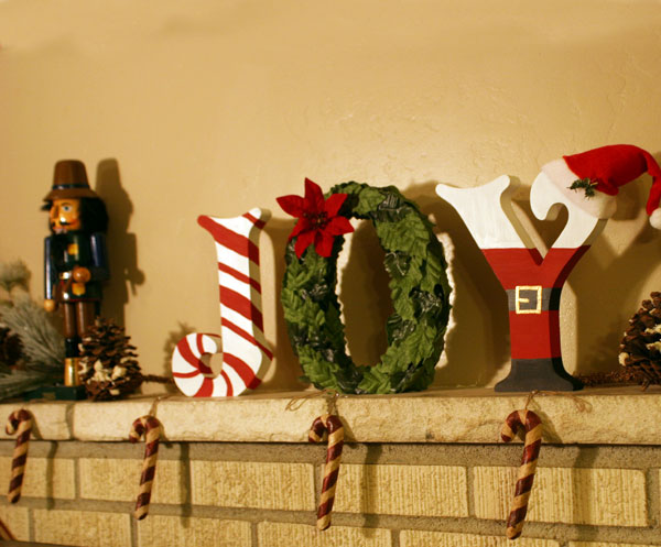 create festive joy standing letters craftcutscom