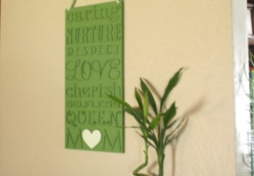 Mother's Day Wall Plaque - CraftCuts.com