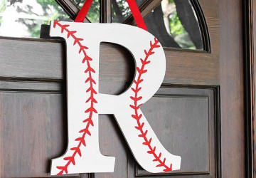 baseball monogram wreath craftcutscom
