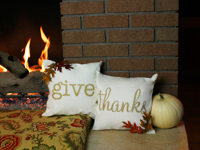 How To Create Thanksgiving Throw Pillows DIY Amazing How To Use Decorative Pillows