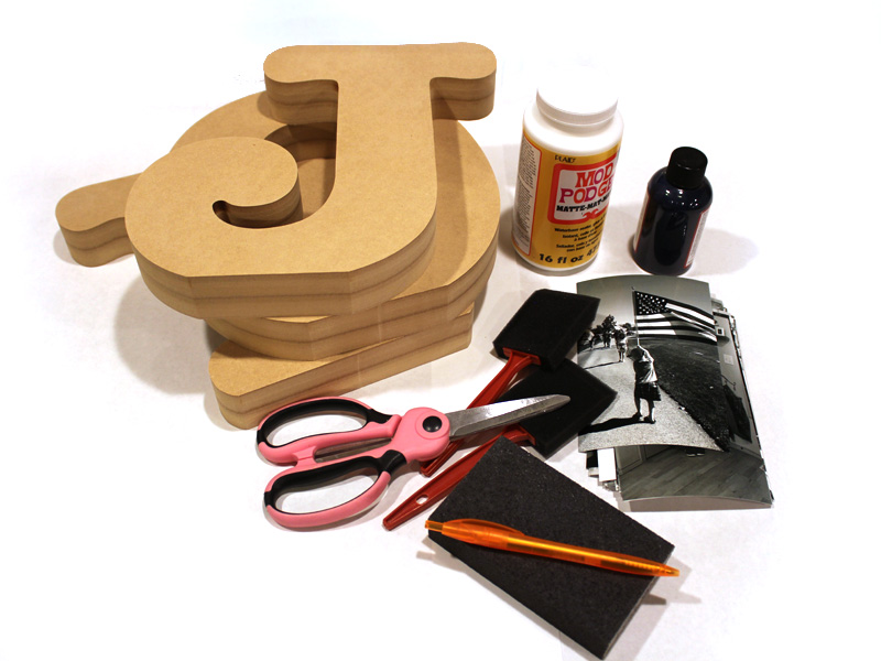 joy photo standing wood letters gather your materials craftcutscom