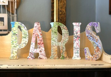 How to Make Map Letters | CraftCuts.com