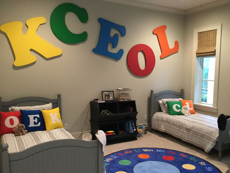 fun with foam letters large foam decor letters craftcutscom