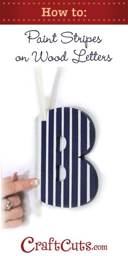 how to paint letters on wood how to paint stripes on wood letters 10167