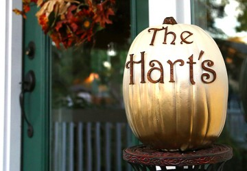 Pumpkin with Wood Letters | Halloween Craft Project | CraftCuts.com