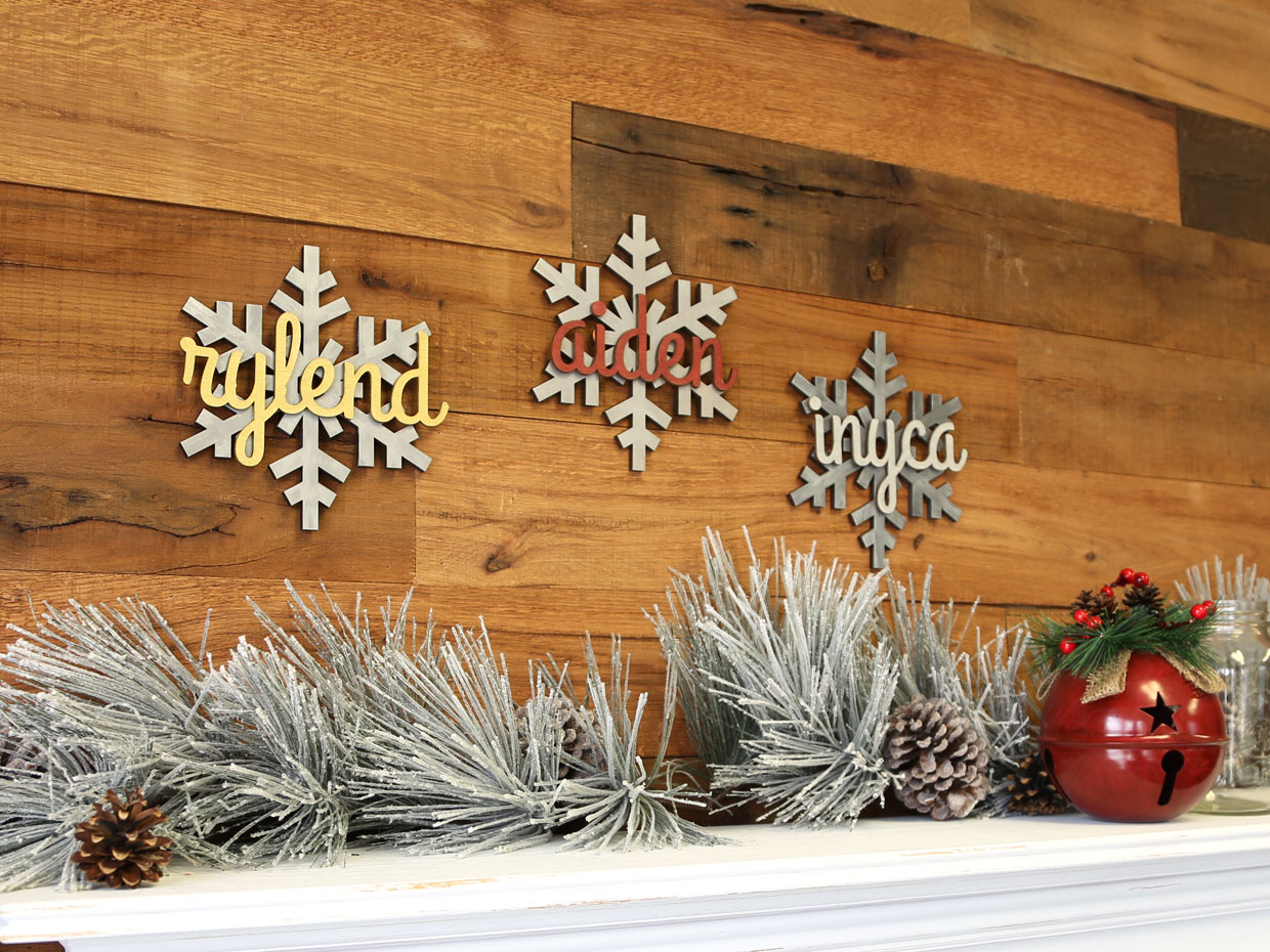 Christmas Snowflake Names Craftcuts Community
