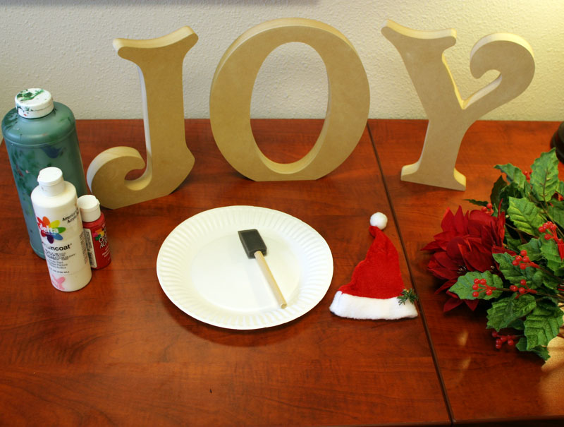 joy letters how to create christmas standing wood