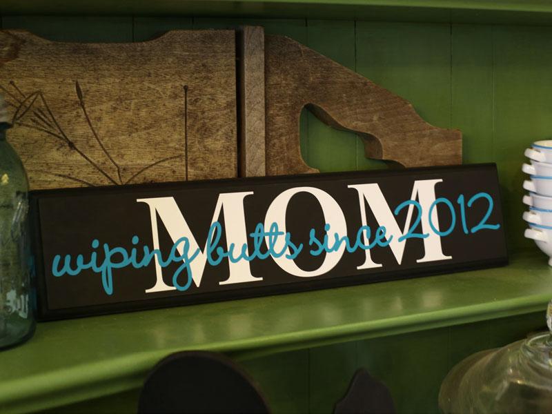 Custom Wood Sign For Mom Diy Decor Craftcuts Com