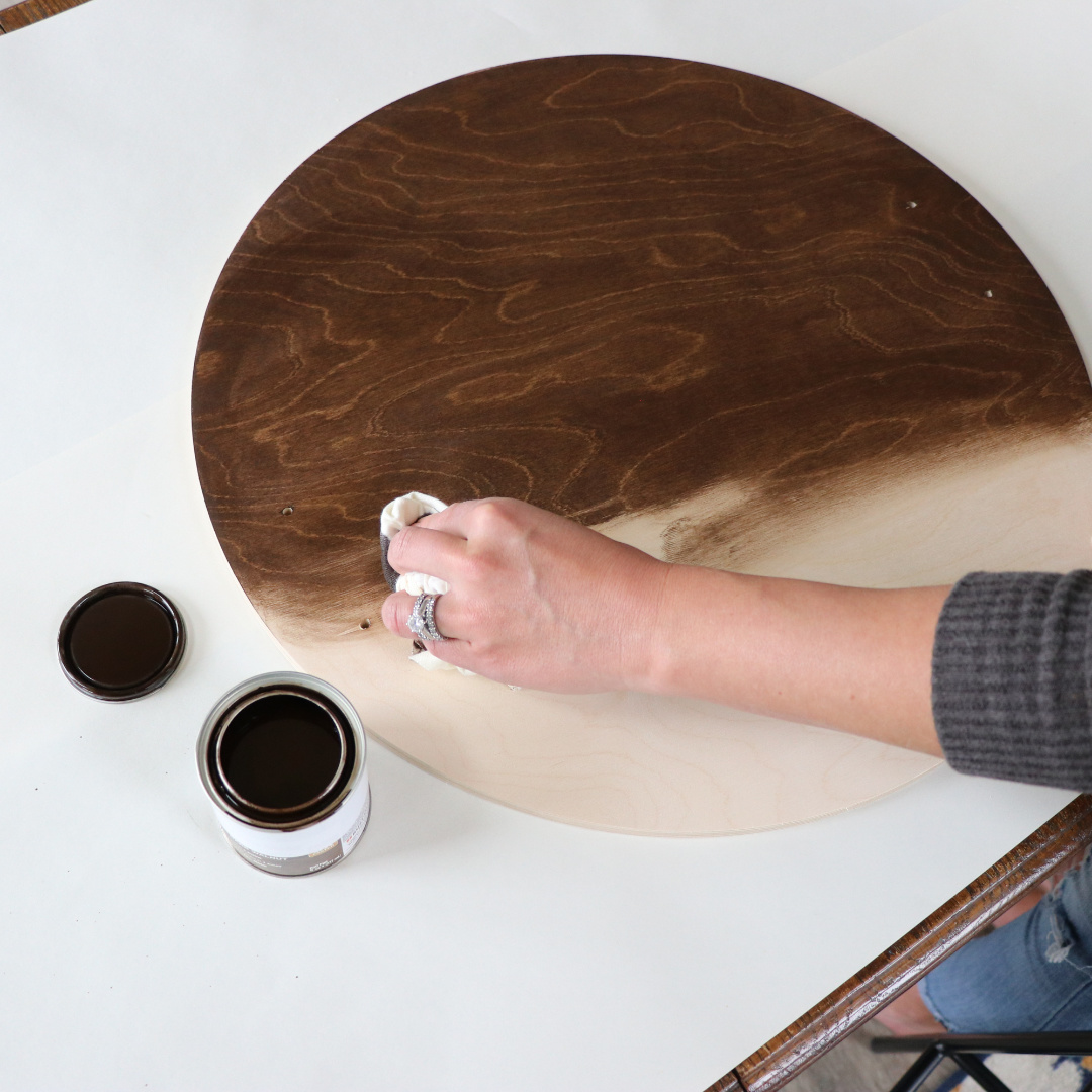 How To Make A Diy Serving Tray With Stencil Craftcuts Com