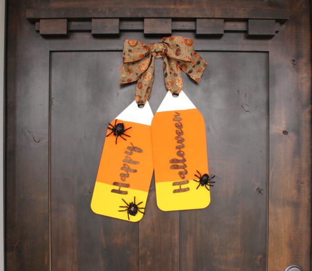 Halloween Door Tag Wreath Craftcuts Community