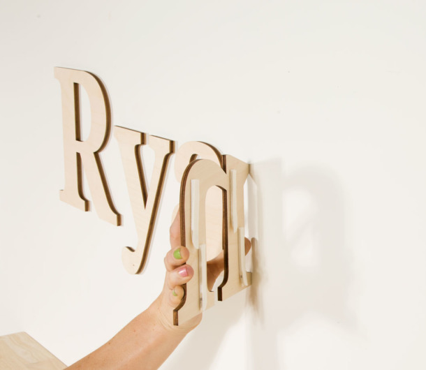 How To Hang Wall Letters With Hanging Strips Craftcuts Com
