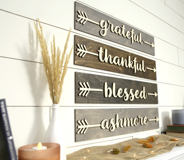 Diy Arrow Wood Sign Personalized