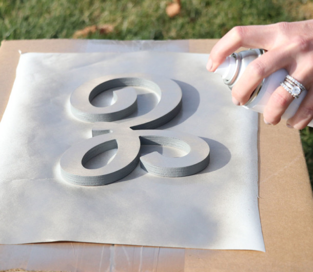 How To Paint Wood Letters Painted Letters Craftcuts Com