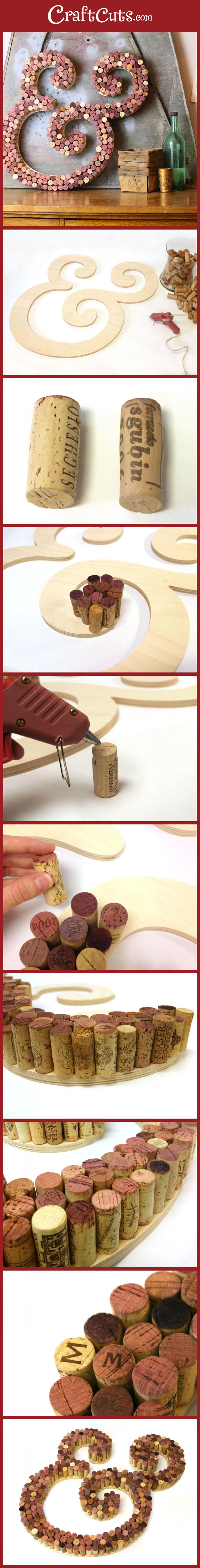 Wine cork craft kits - View Pintorial
