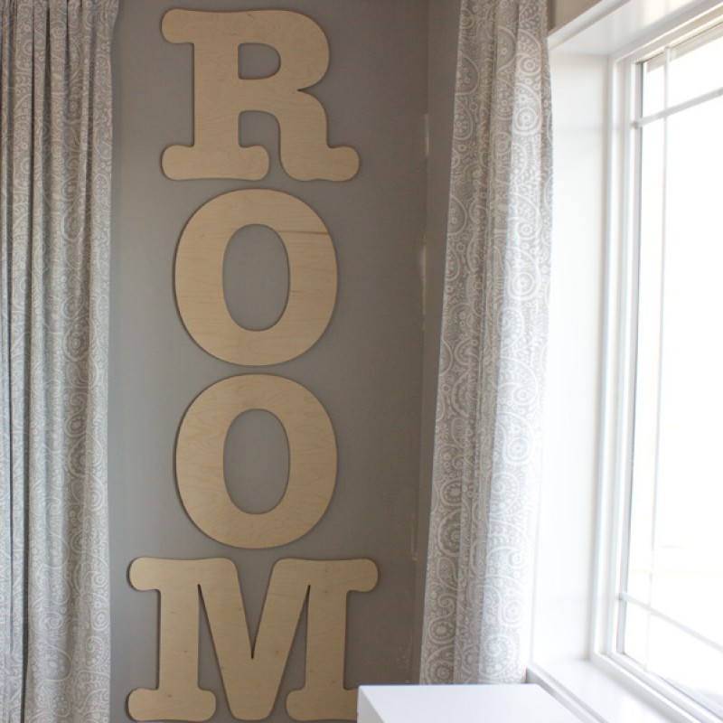 Large Wood Letter Decorate With Large Wall Letters Craft Cuts