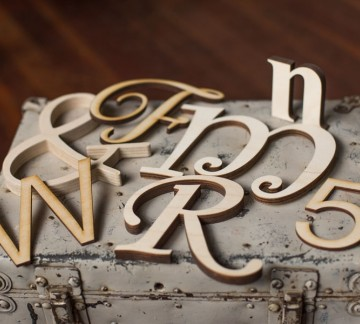 Wooden Letters Any Font Any Size Craftcuts Com