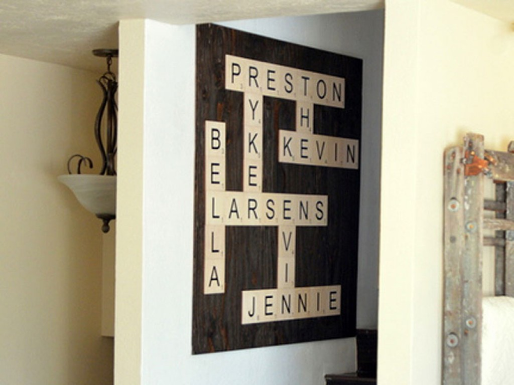 Wood Wall Letter Tiles Large Letter Tiles Craftcuts Com