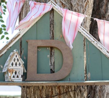 Outdoor Wood Letters