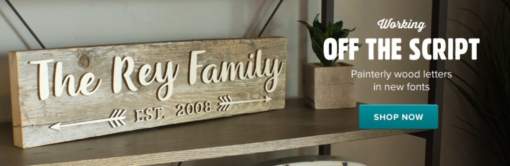 DIY Rustic Wood Sign