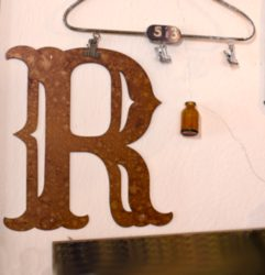 craft metal letters